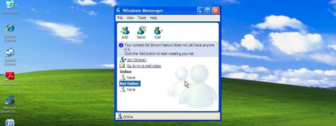 (Fonte: MSN Messenger/Reprodução)