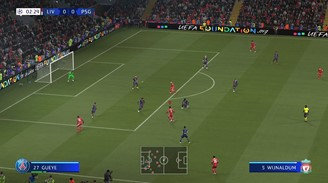 EA SPORTS GameCam is one of the few new features in FIFA 21 of the new generation