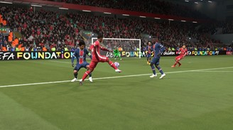 Gameplay remains the same in FIFA 21 of the new generation