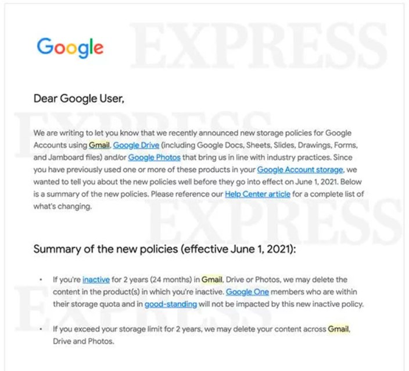 Google avisa que vai deletar arquivos do Drive e Fotos em breve 21