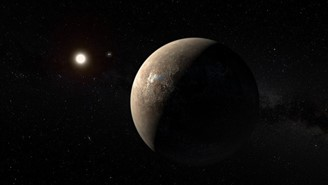 The planet Proxima Centauri b may present conditions favorable to the existence of life, according to astronomers.