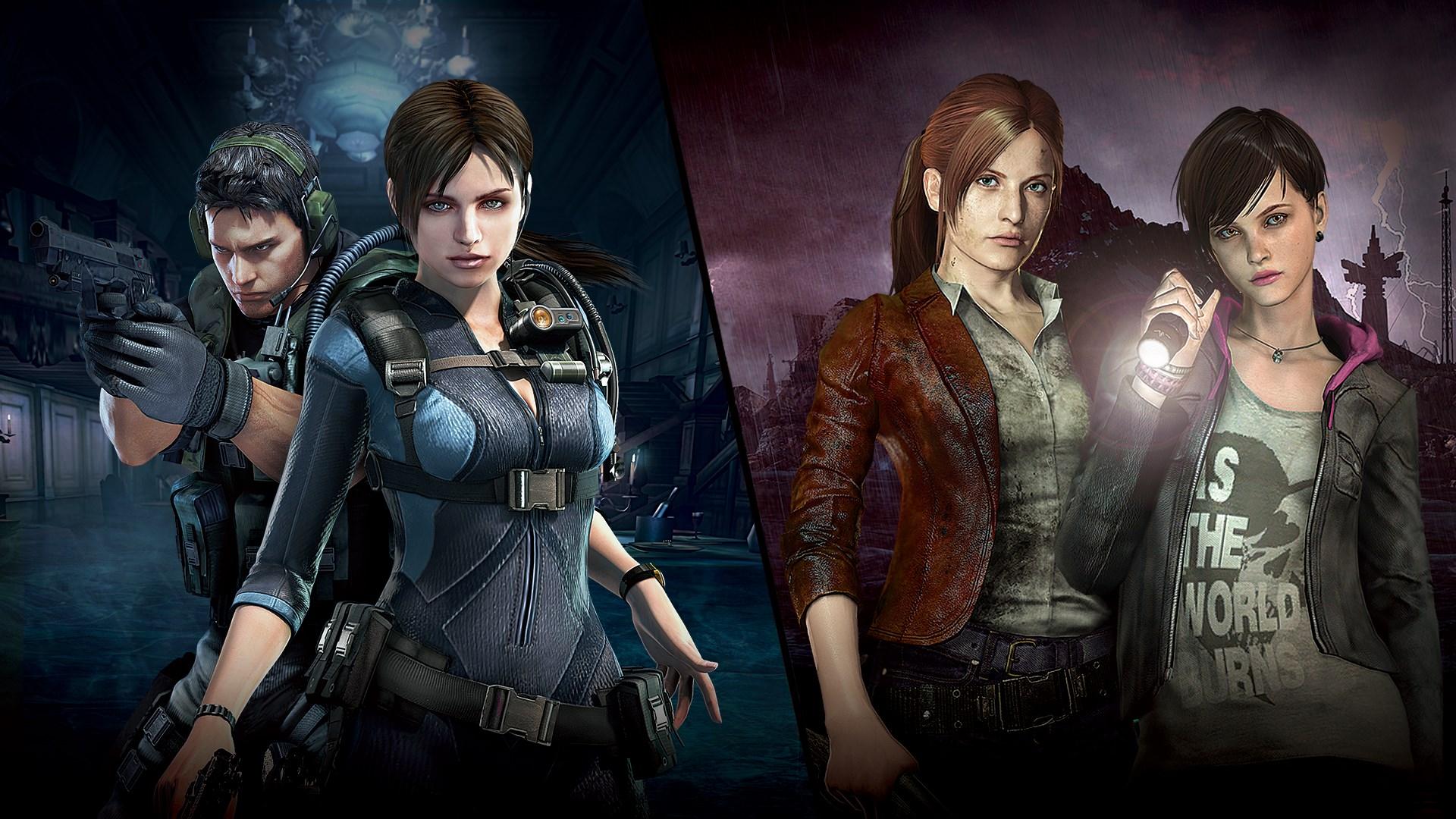 Resident Evil Revelations 1 and 2