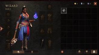 Diablo Immortal's inventory system includes 13 slots for items