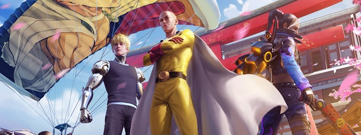 Free Fire Jogo Tera Crossover Com One Punch Man Voxel