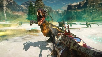 Second Extinction pits players against alien dinosaurs.