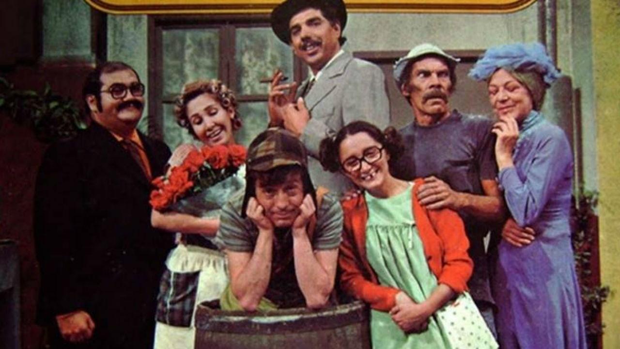 O carismático elenco original de Chaves.