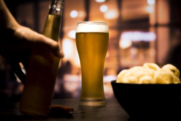 Cerveja, bebida altamente calórica