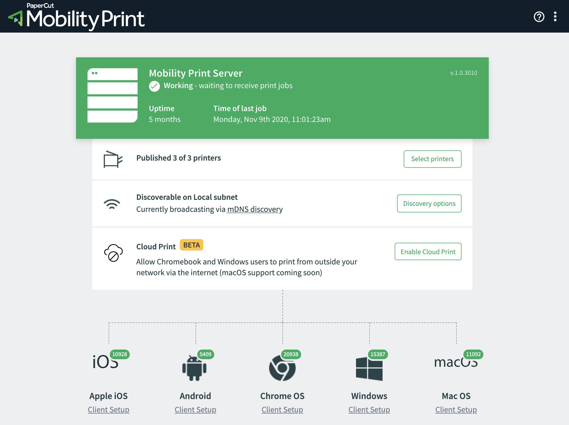 Mobility Print surge como uma alternativa para o serviço de impressão remota da Google.