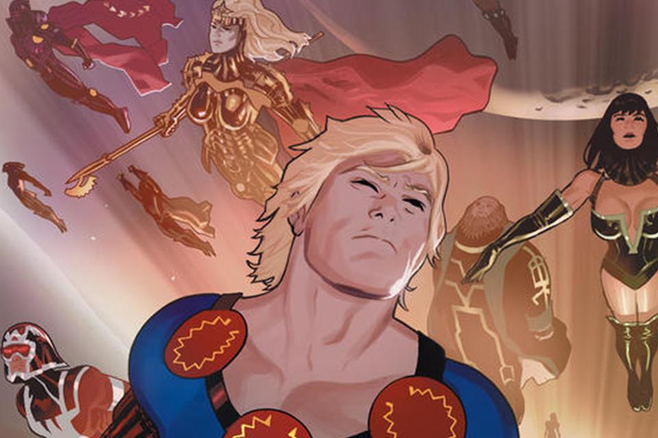 Os Eternos: imagens de LEGO podem revelar trama do filme da Marvel
