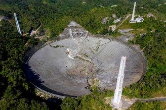 The year 2020 marked the end of the iconic Puerto Rican observatory, which collapsed after two support cables were broken.
