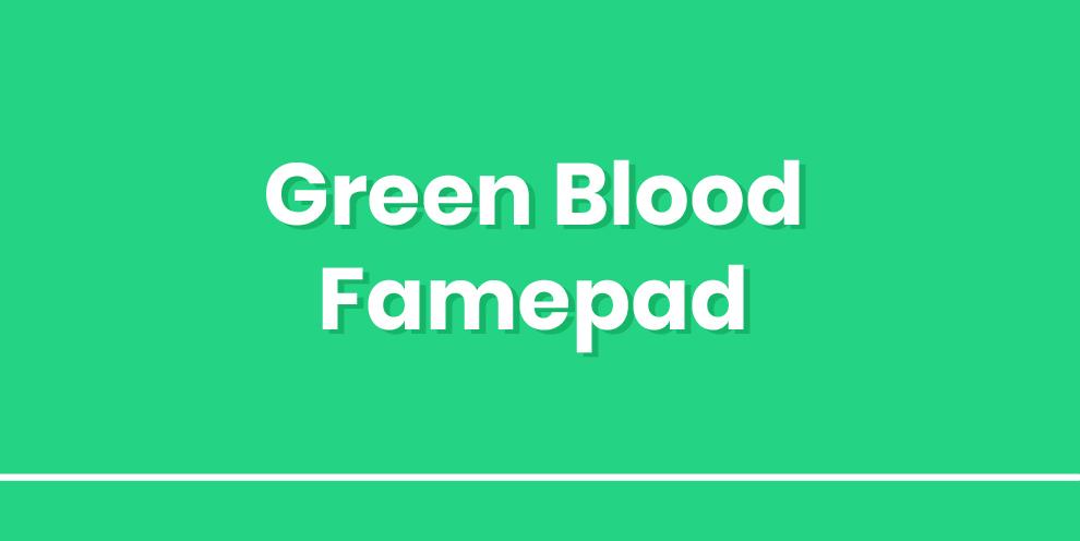 Green Blood Gamepad