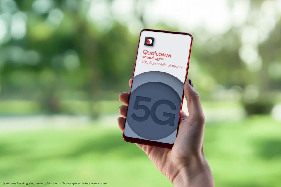 Qualcomm anuncia Snapdragon 480 5G para celulares básicos
