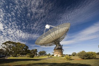 When directed at another region of space, the Parkes telescope registered nothing.