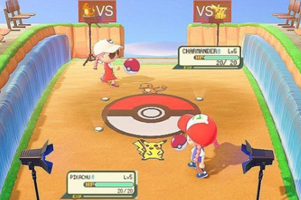 Animal Crossing: New Horizons: jogador recria áreas de Pokémon no game