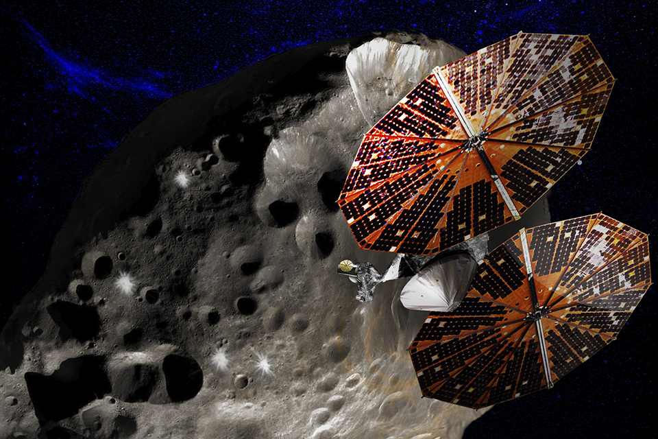 NASA revela novo instrumento para estudo de asteroides