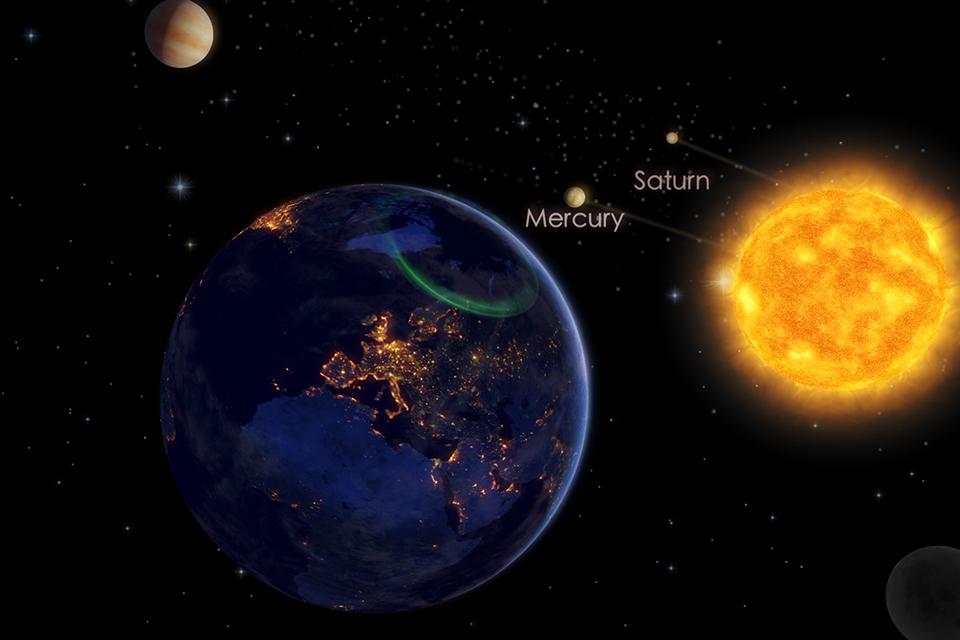 Como assistir à rara conjunção de planetas neste fim de semana