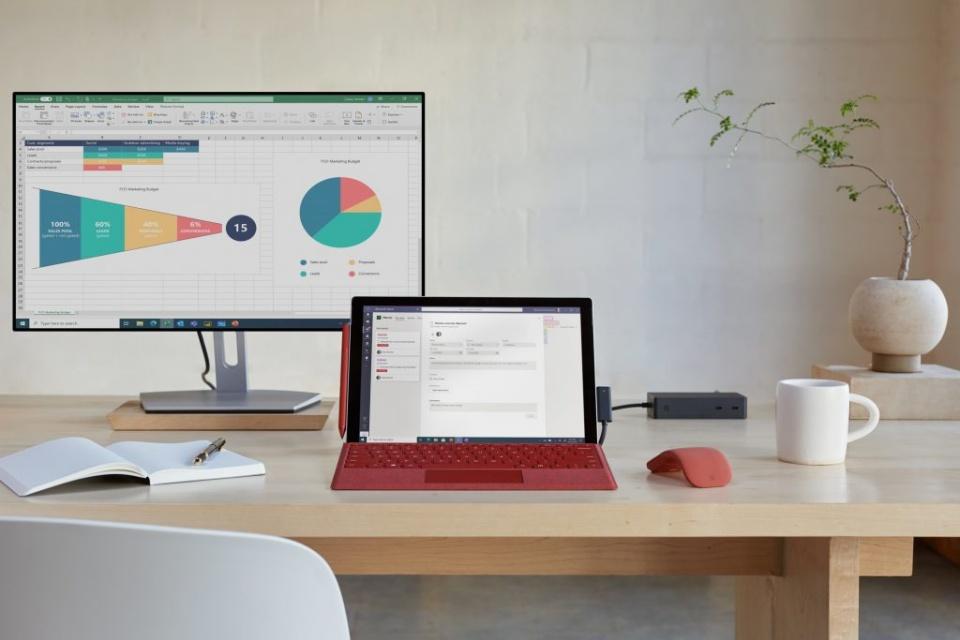 Microsoft lança Surface Pro 7+ com chips Intel Tiger Lake e 4G