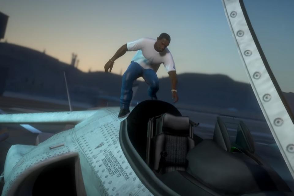 GTA San Andreas: fãs recriam trailer do game com gráficos de PS5