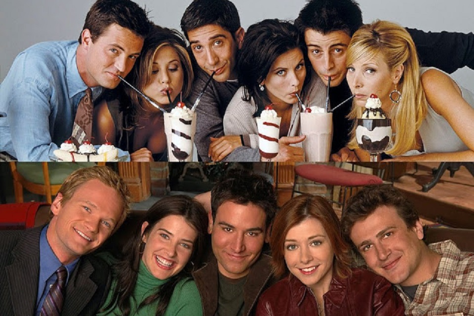 10 incríveis similaridades entre Friends e How I Met Your Mother