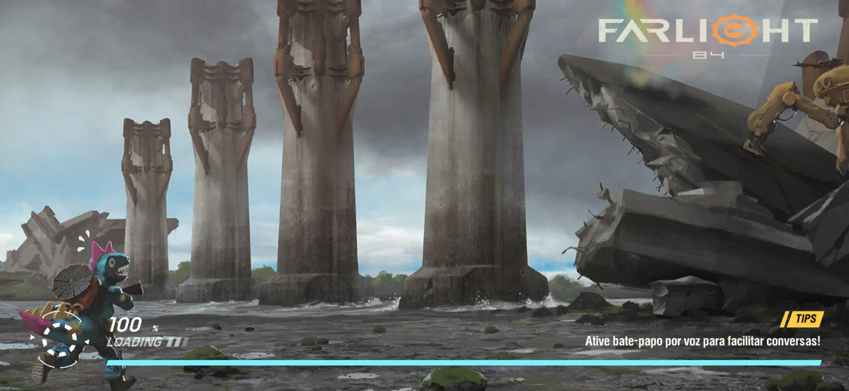 Jogo é ambientado em um futuro pós-apocalíptico