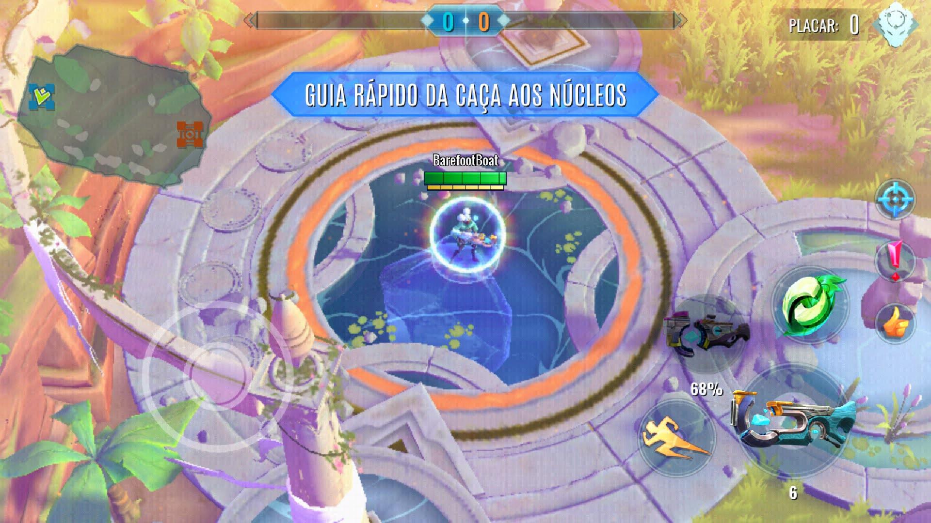 Jogo, disponível em APK e na Play Store, acontece em um campo de batalha