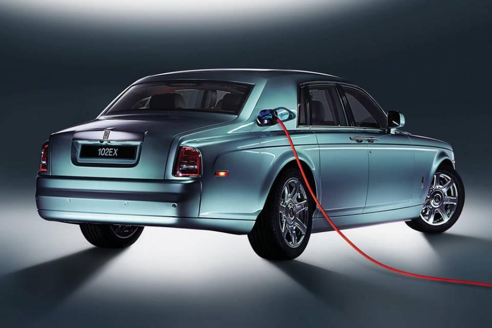 Rolls-Royce elétrico pode ter motor do BMW i7 e uma baita bateria