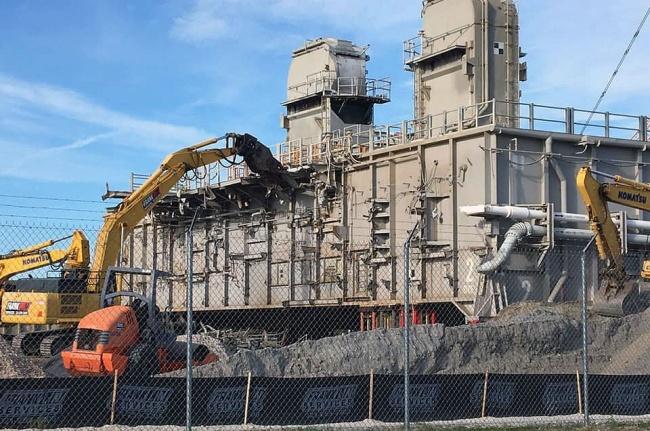 O processo de demolição deve ser concluído em até um mês.