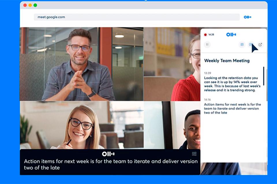 Google Meet ganha extensão que transcreve reuniões em tempo real