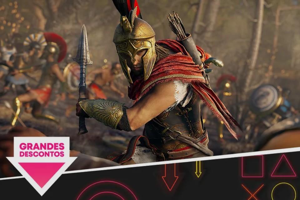 PSN lança nova promoção com desconto em jogos de PS4