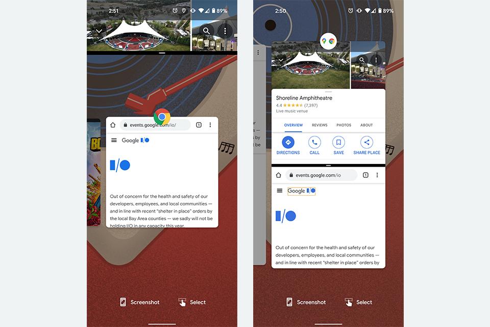 """Imagem meramente ilustrativa do recurso """"App Pairs"""", segundo o site 9to5 Google. (Fonte: 9to5 Google / Reprodução)"""