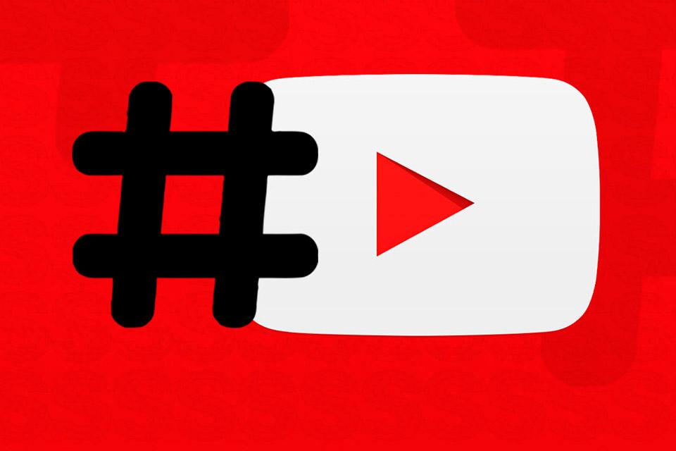 YouTube agora exibe hashtags em forma de página