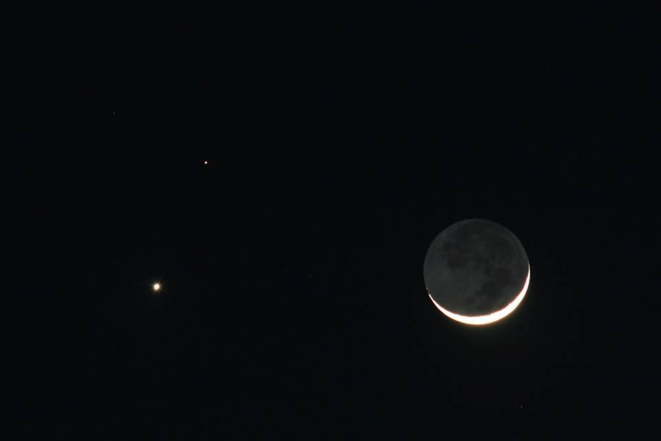 Urano e Marte se alinham no céu desta quinta-feira (21)