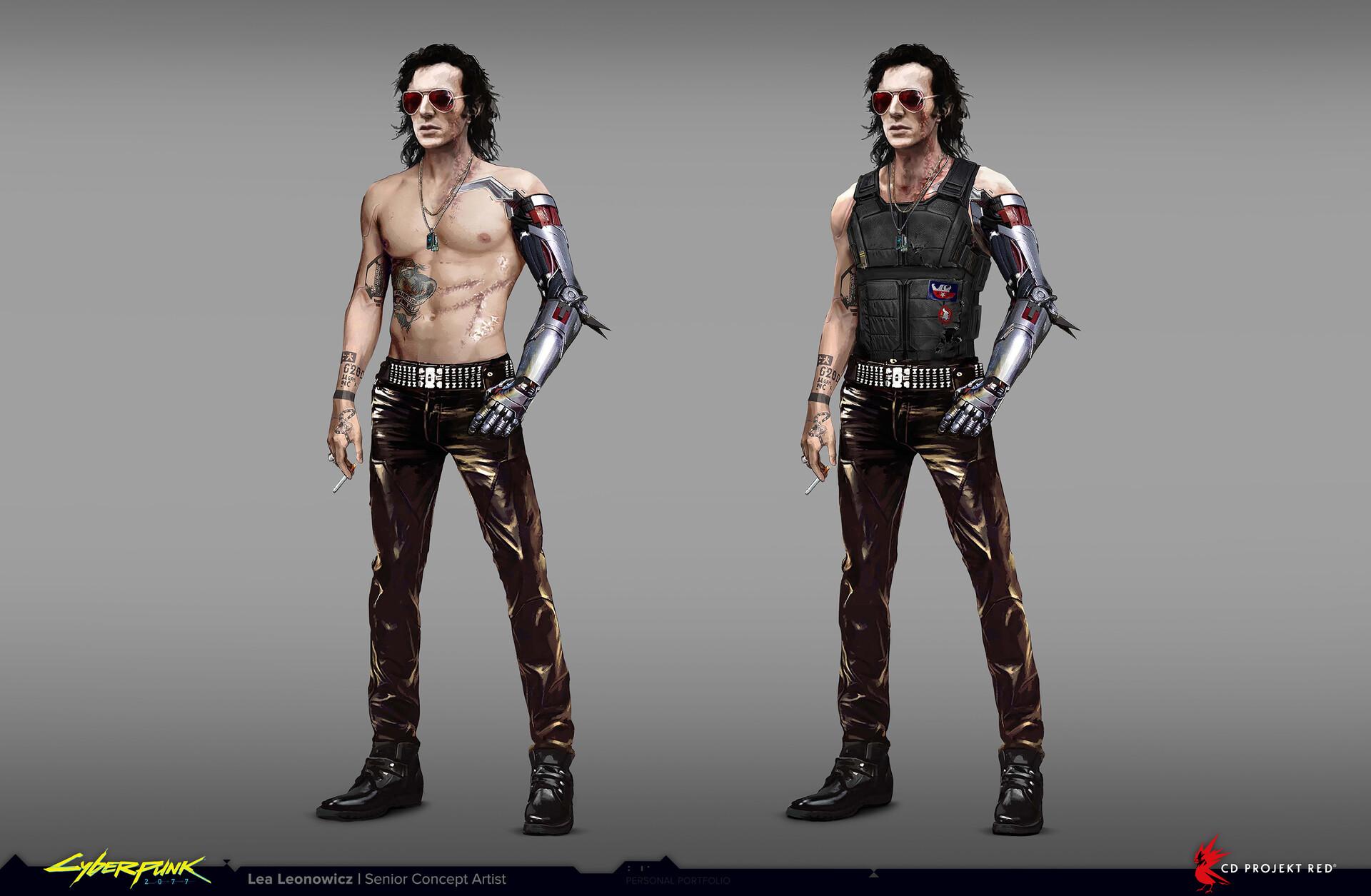 Artes conceituais mostram como seria Johnny Silverhand antes de ser Keanu Reeves