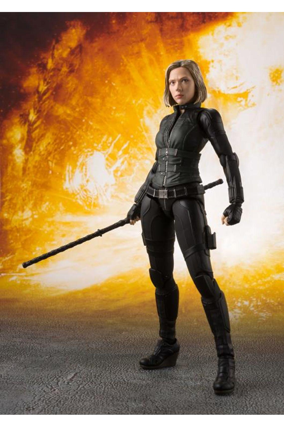 Collectible by Natasha Romanoff, the Black Widow.