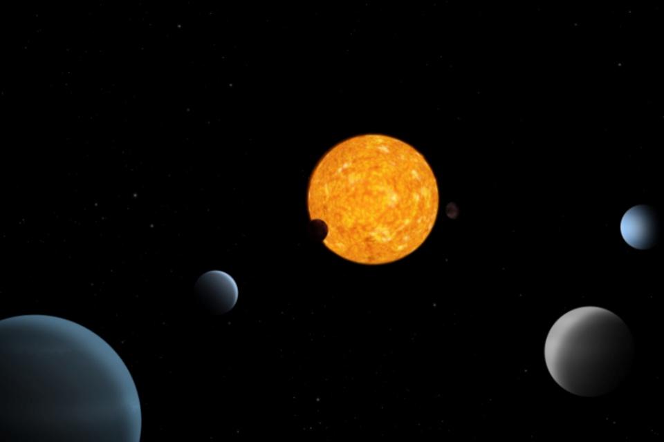Sistema planetário 'peculiar' deixa astrônomos intrigados