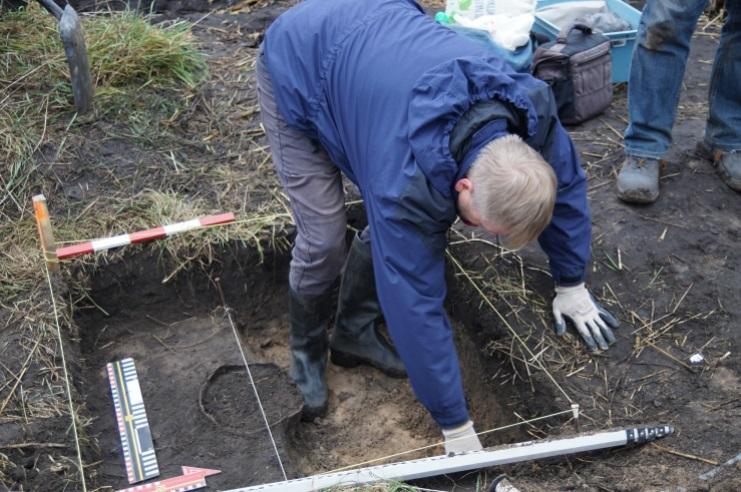 A escavação deve continuar na região em busca de outros objetos.
