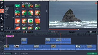 Movavi Video Editor allows you to capture and edit images