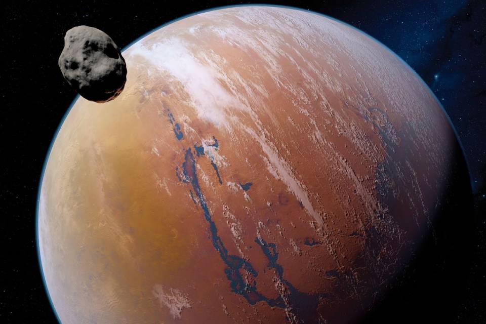 Lua de Marte pode revelar passado do Planeta Vermelho