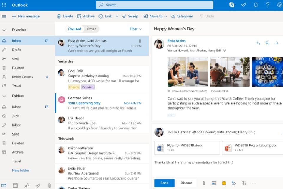 Microsoft sugere que usuários de Outlook e Hotmail paguem por espaço