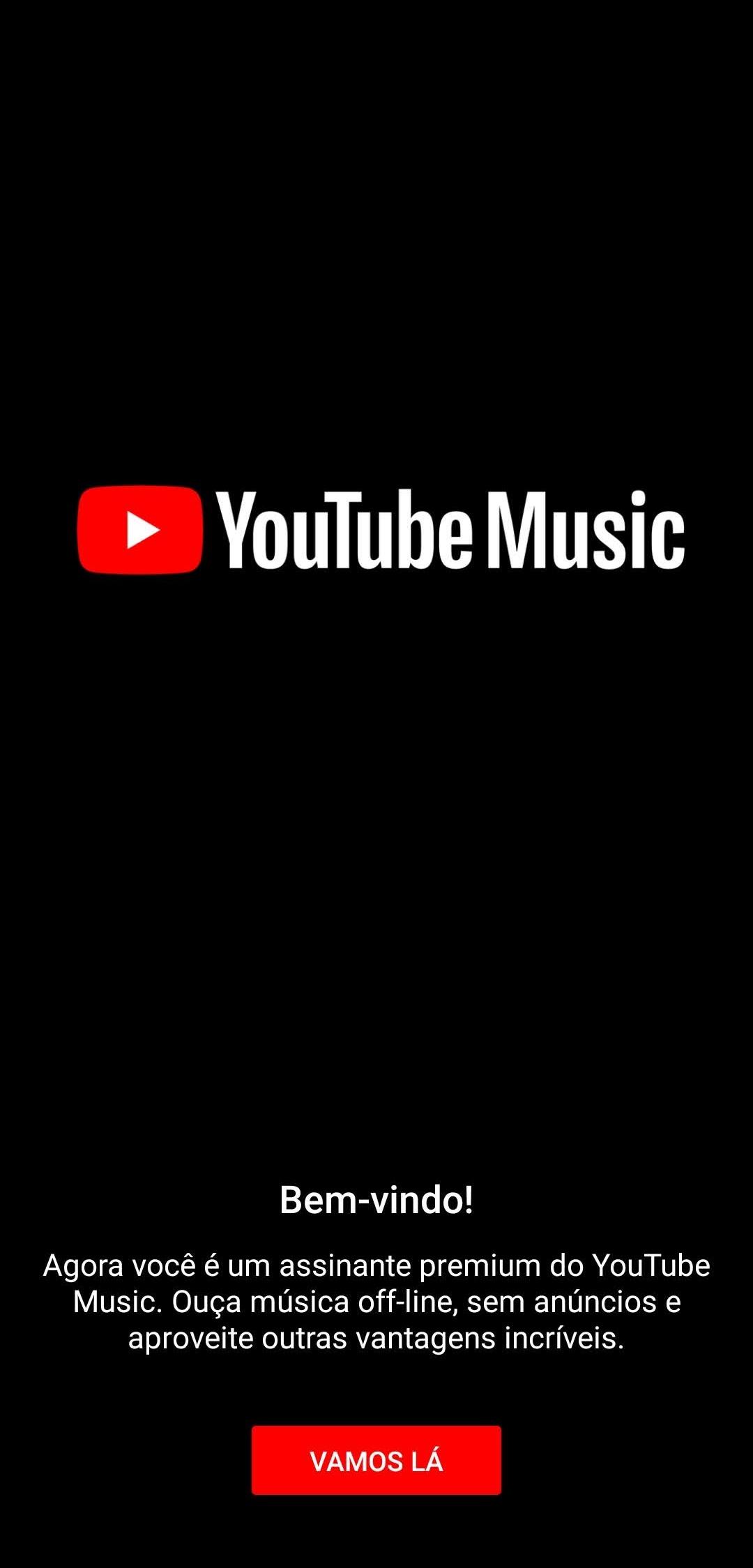 Versão premium oferece músicas sem comerciais