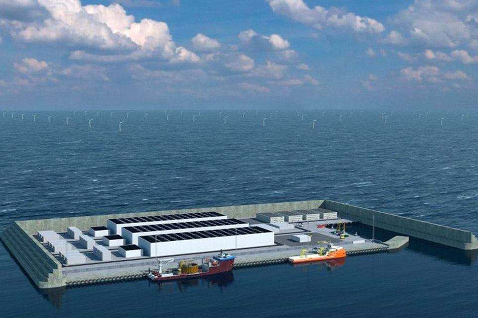 Dinamarca construirá ilha no Mar do Norte para fornecer energia