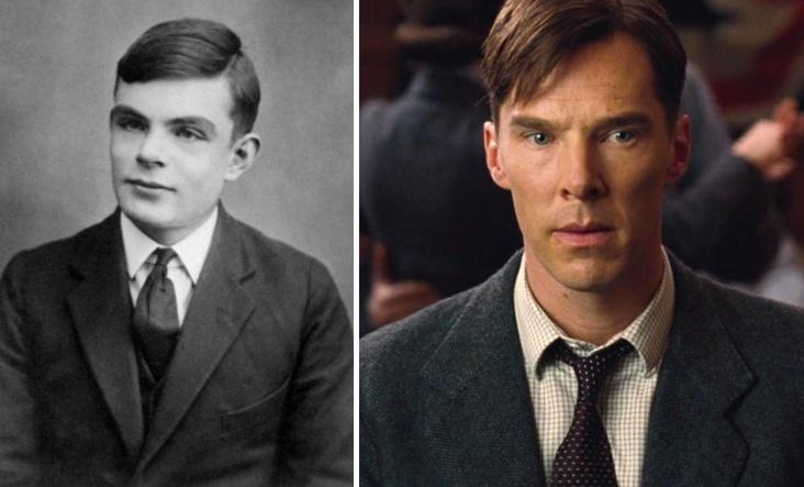 Turing e Cumberbatch.