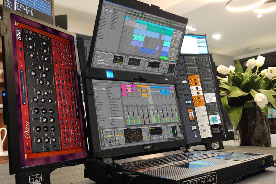 Aurora 7, o 'laptop' com sete telas e duas horas de bateria