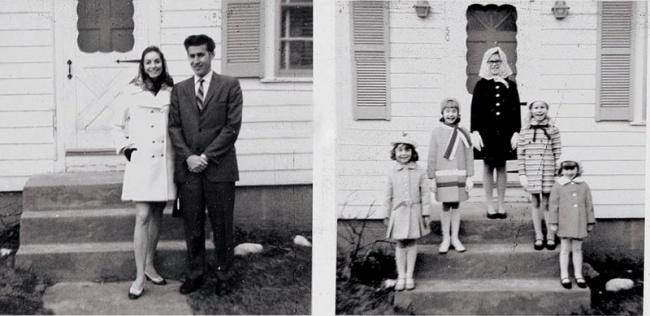 Fotos reais da família Perron.