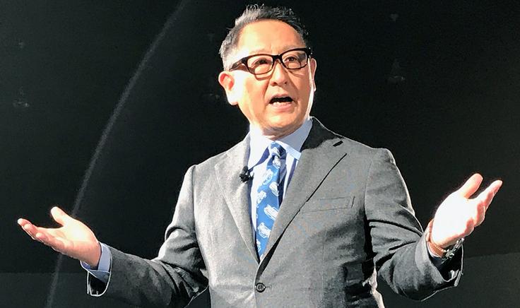 Akio Toyoda considera os BEV