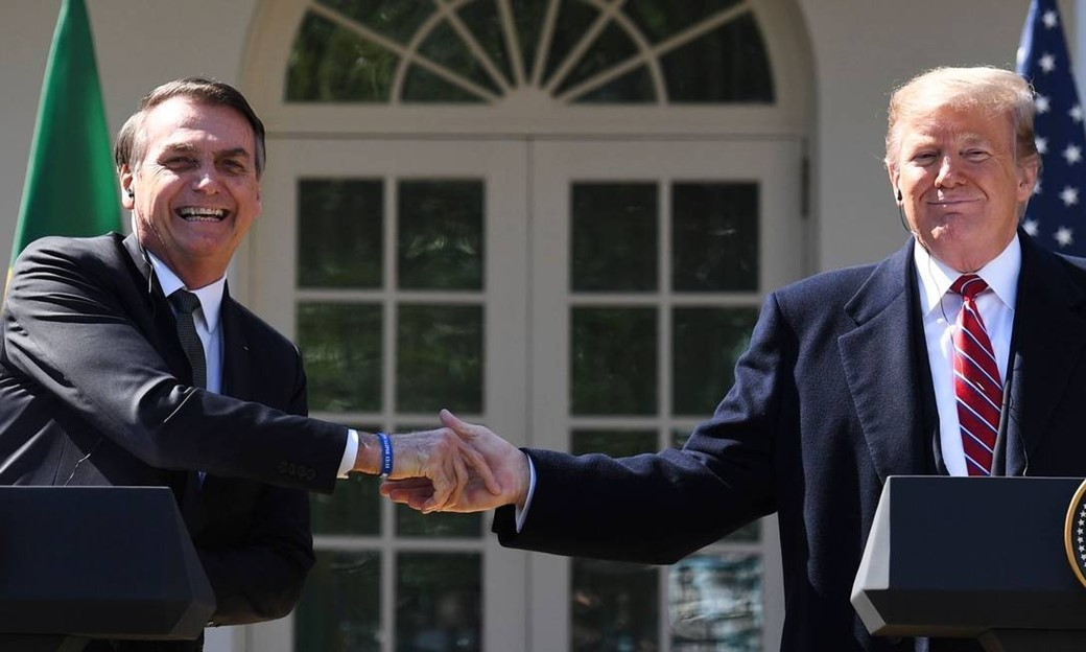 Fonte: Jim Watson/AFP/Reprodução