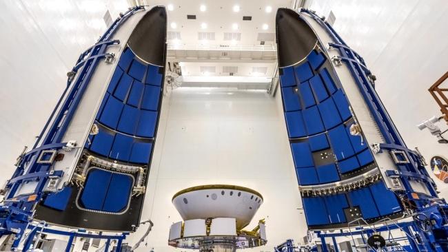 A missão foi lançada em 30 de julho de 2020.