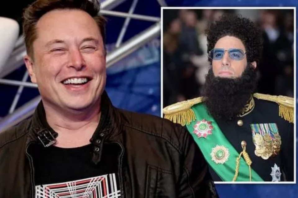 Musk se inspirou no filme O Ditador para mudar design da Starship