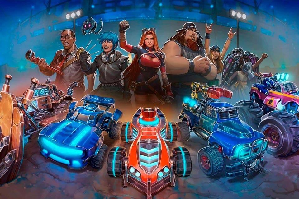 Heavy Metal Machines (HMM) chega aos consoles ainda em fevereiro