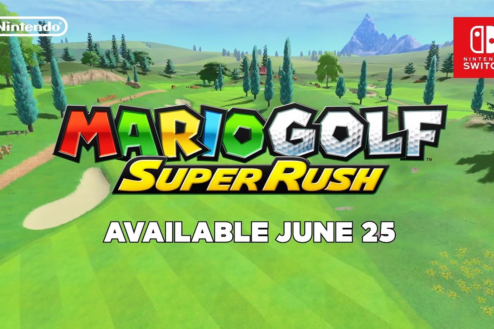 Mario Golf Super Rush é anunciado no Nintendo Direct